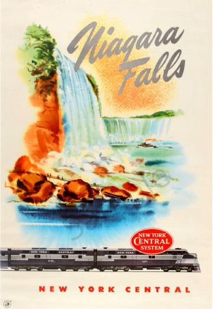 Niagara Falls by Rail